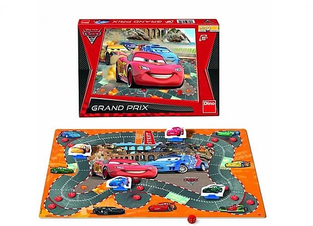 Hra CARS 2: GRAND PRIX