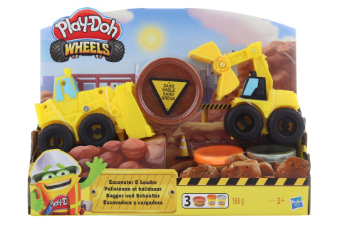 Play Doh Wheels Těžba