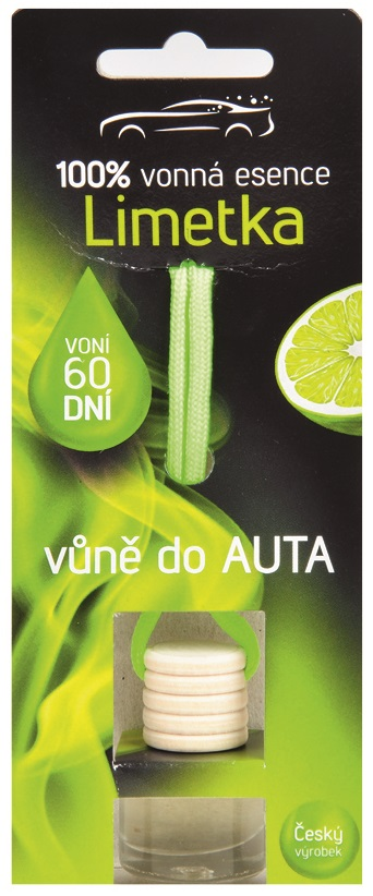 Vůně do AUTA 5 ml - LIMETKA